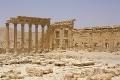Ruiny świątyni semickiego boga Baal'a - w czasach rzymskich postrzeganego jako Jupitera